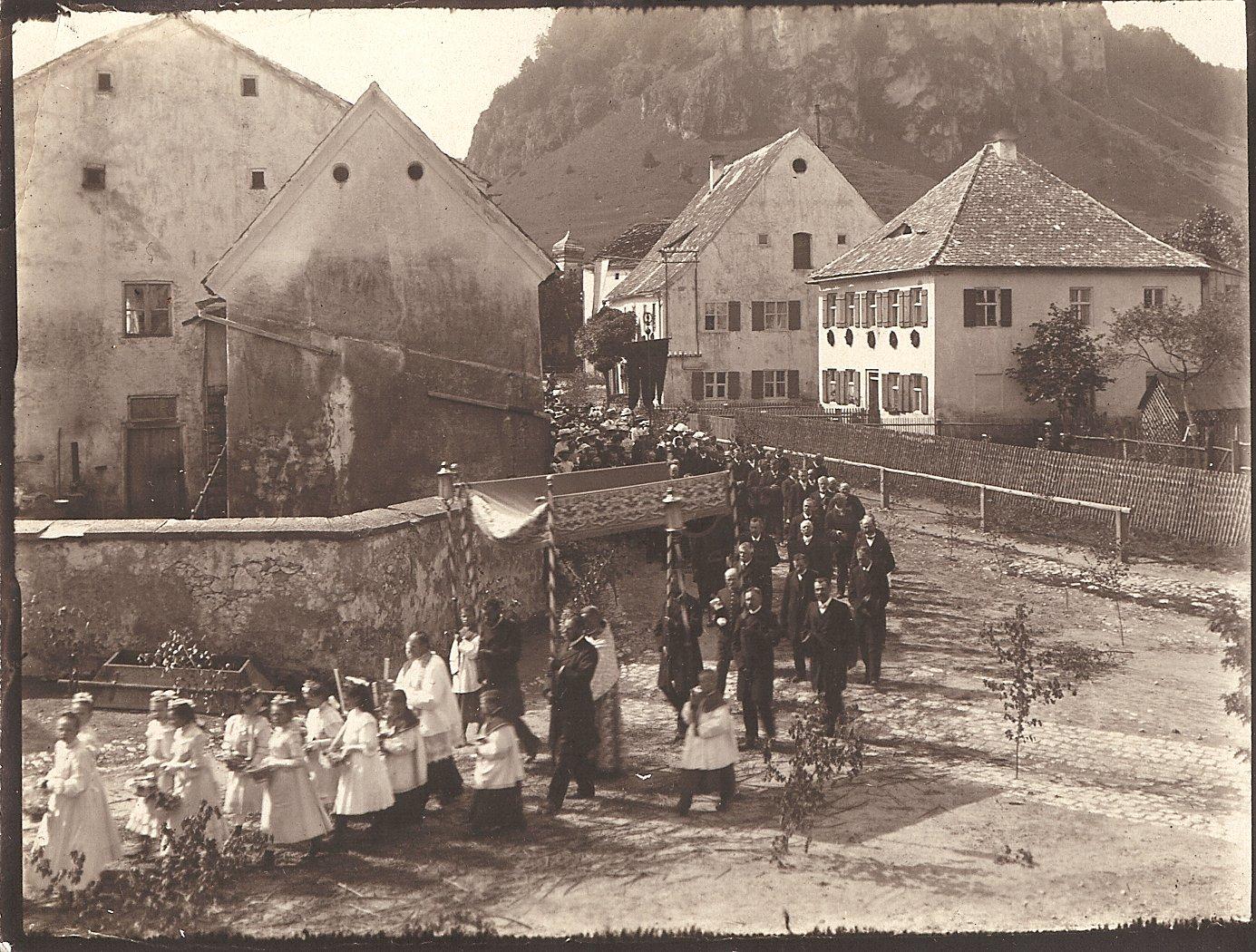 11 Stubenrauch Fronleichnam 1909
