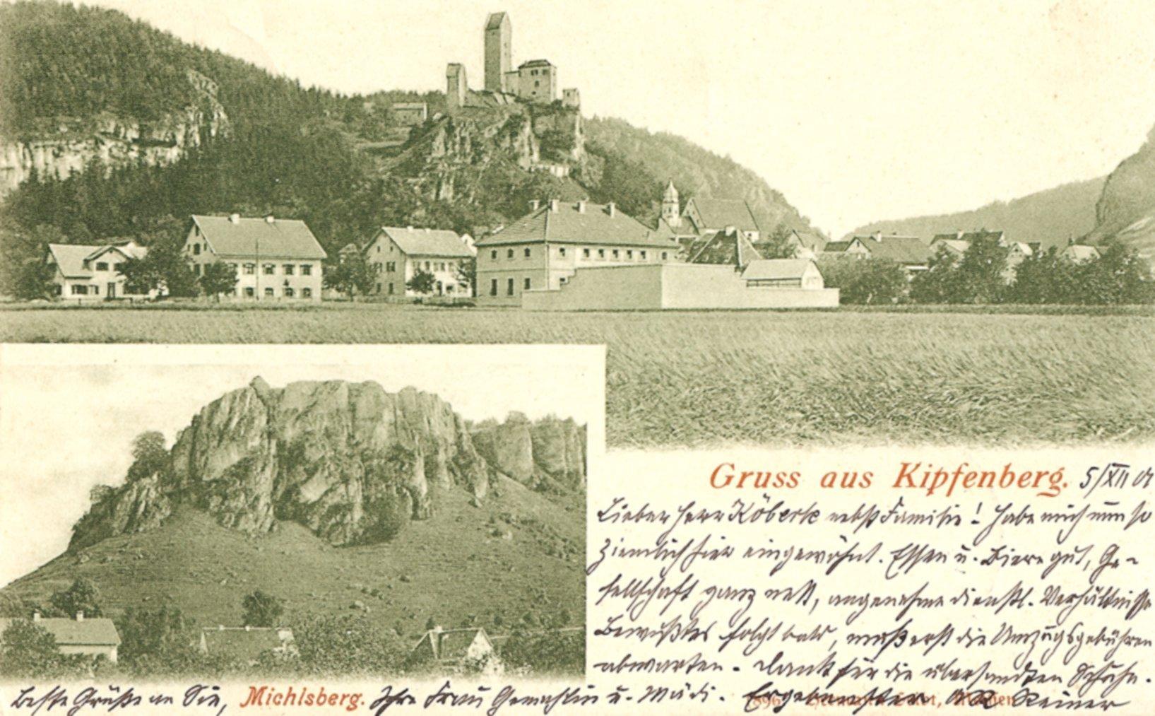 6 Gefängnis mit ummauertem Gefängnishof 1901