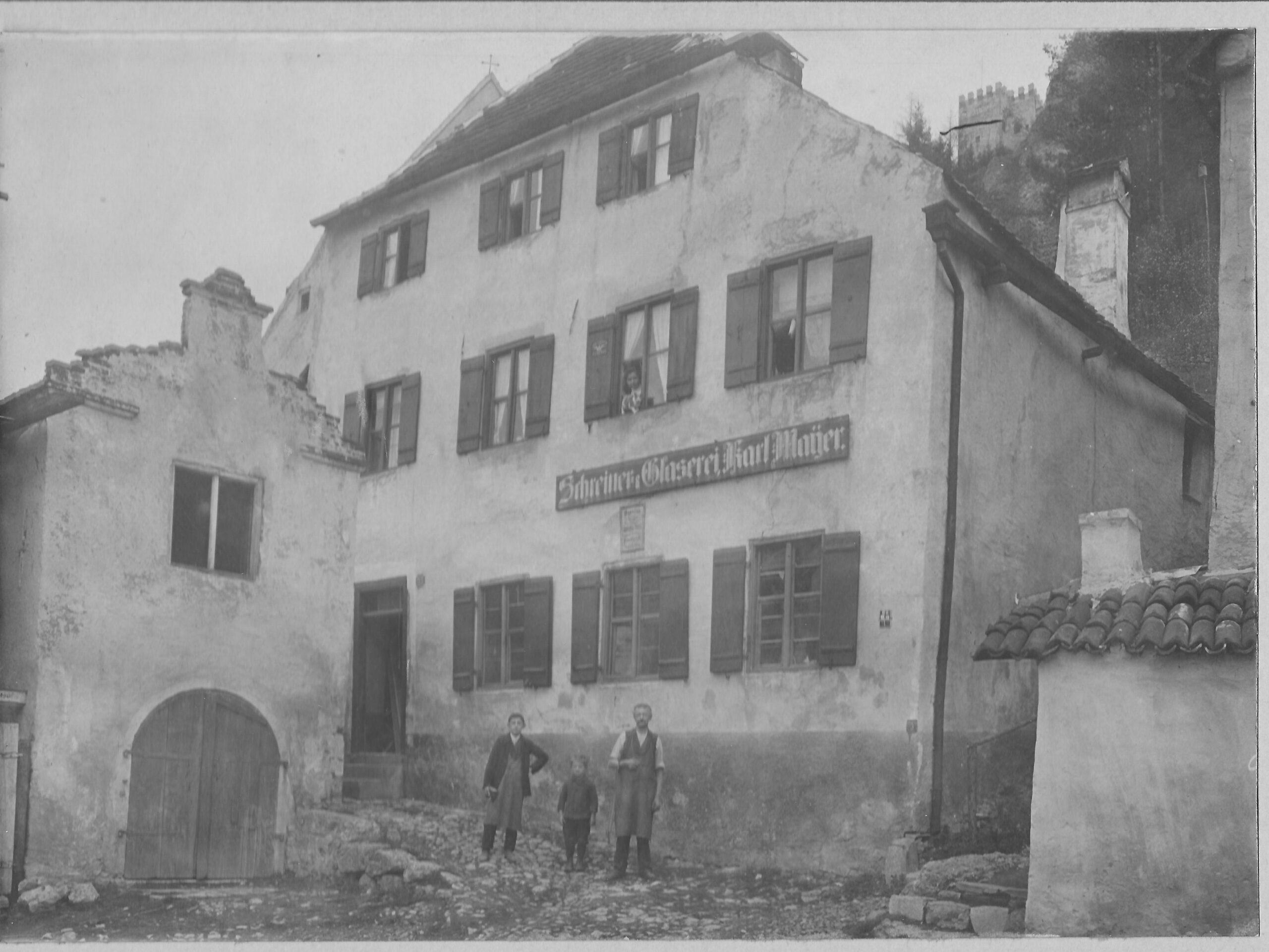 7 Mayer Schreinerei 1910 - Eiskeller